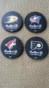 Crown Royal Whisky NHL Puck Coasters