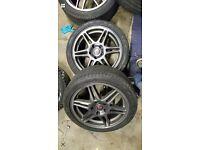 WANTED! 1 or 2 speedline alloy wheels, 5x114.3 evo skyline civic jap lexus