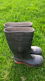 Work boots Acifort Wellington's heavy duty safety wellies size 9