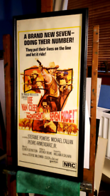 Original western film poster / picture
