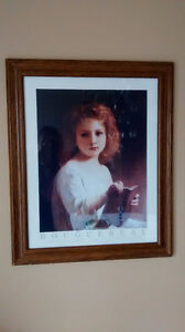 "Bouguereau - Framed art print - ""The Story Book"" 1877 Kitchener / Waterloo Kitchener Area image 3"
