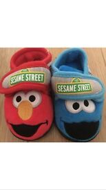 NEW SESAME STREET SLIPPERS FROM NEXT IN SIZES 5 & 7