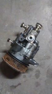 Bmw 2004 740 power steering pump.alternator.mas and more