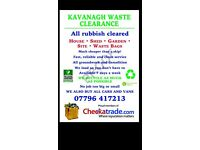 Rubbish clearance waste removal and demolition,office strip out cheaper than a skip