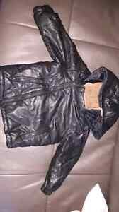Manteau cuir/cuirette noir Zara babyboy