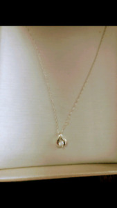 10k white gold necklace from People's Jewelry