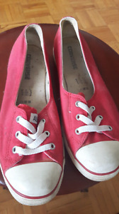 Converse slip ons size 10 womens