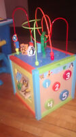 Toddler clothing, mini mouse chair, bed rail, potty, doll house