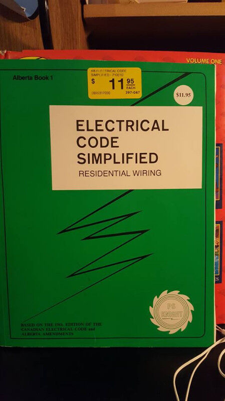 Groovy Electrical Code Simplified Textbooks Moose Jaw Kijiji Wiring 101 Cranwise Assnl