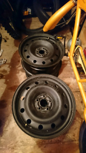 Steel rims for winter tires 16 inches