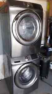 Samsung heavy duty HE stacking washer & dryer