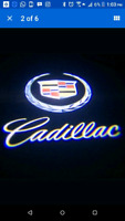 2 Cree LED Projector Courtesy light for Cadillac