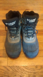 Winter boots Columbia Titanium.