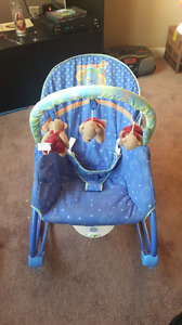 Link-A-Doos Vibrating Baby Rocking Chair