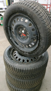 Michelin x-ice barely used 225/65/17