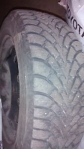 4 Good Years Winter Tires  (205/55R 16 ) for sell total $239