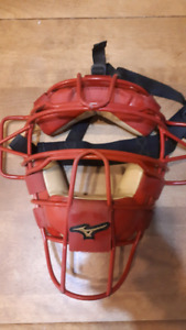 Mizuno pro catchers mask