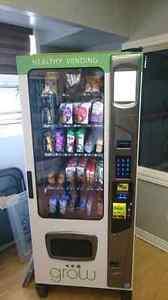 Healthy vending machine franchise for sale