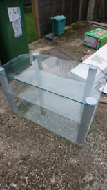 Glass TV Stand - FREE