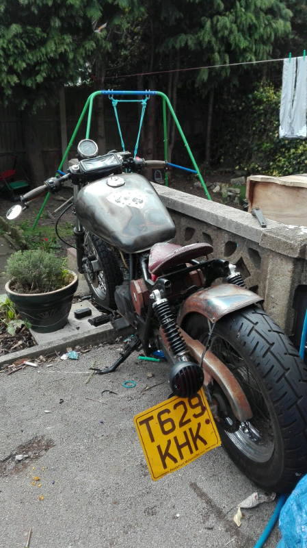 125cc custom Suzuki marauder bobber | in Pontefract, West Yorkshire |  Gumtree