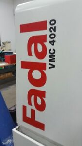 FADAL CNC MACHINES AVAILABLE