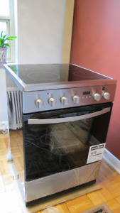 """Brand New, Never Used 24"""" Stainless Steel Electric Range"""