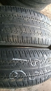 pairs of 205 55 16 all season tires. $50 per pair. 50% trea