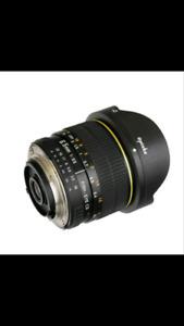 Opteka fisheye 6.5 lens for Nikon