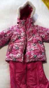 habit d'hiver fille 3 ans