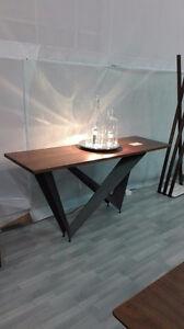 Lexington solid Oak sofa table - New