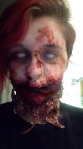 Services de maquillage d'haloween