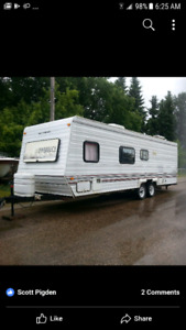 1993 28ft camper sleeps 6-8