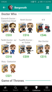 Funko: Doctor who