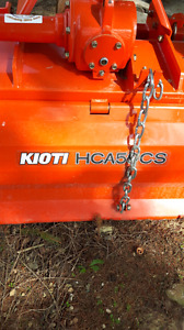 59 in kioti   tiller like new
