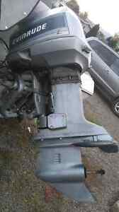 1996 90HP Evinrude motor lower unit