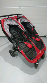 Baby Jogger City Mini GT Twin buggy - nearly new condition barely used