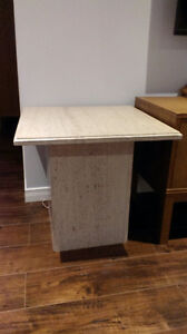 2 marble coffee table