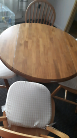 Oak Table 4 seats