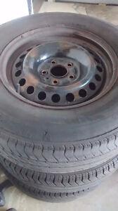 Perfect rims for snow tires Gatineau Ottawa / Gatineau Area image 2