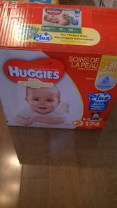 Baby Diapers - Size 1 & 2