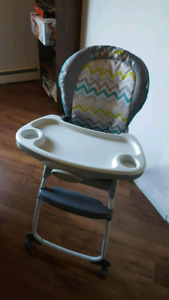 3 position Ingenuity High Chair