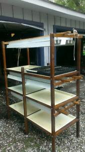 Plant grow stand