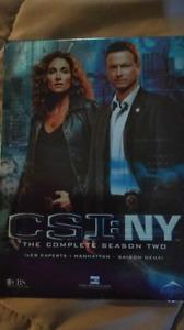 CSI, DVD COFFRET, MIAMI, NY,