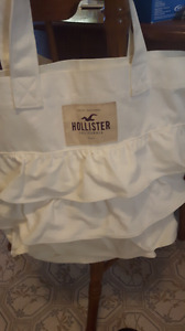 *NEW* White Hollister California Bag