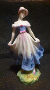 SIGNED Royal Doulton MADELEINE Figurine