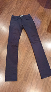 Naked and Famous skinny guy jeans size 30x34