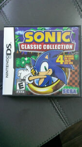 jeu DS sonic the hedgehog collection classic