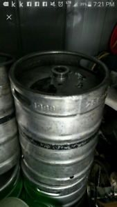 Stainless beer kegs for hobby projects