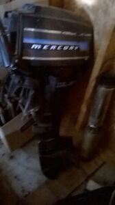 9.8 HP Mercury outboard motor