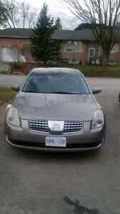 2006 Nissan Maxima Certified and Etested